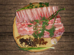 Свиная корейка без сала